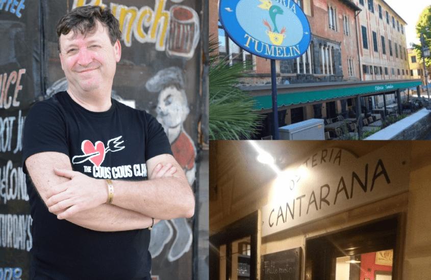 Sapori & Storie Verticali. Street Food alla levantese, Chef Kumalè e De Gustibus