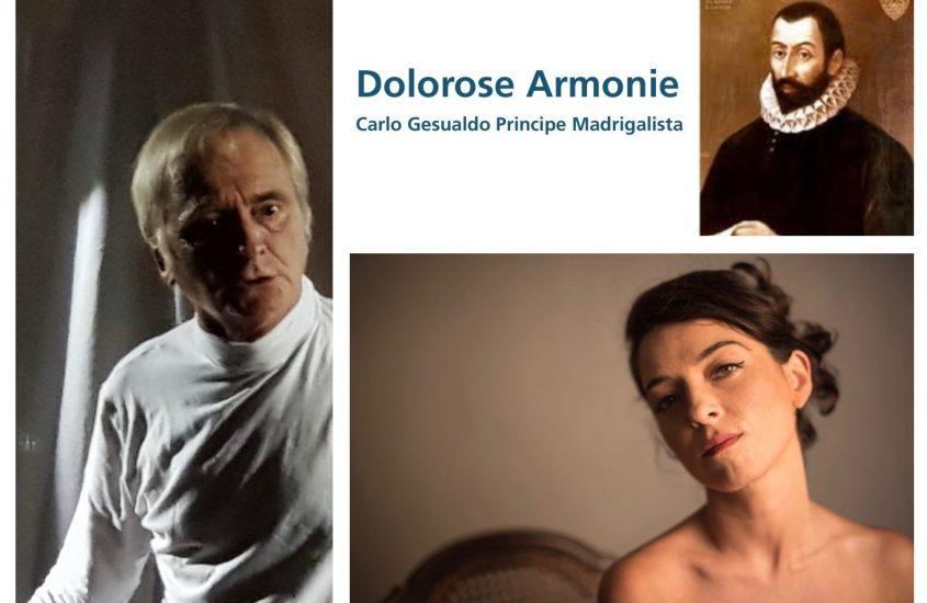 Levanto Music Festival – Amfiteatrof 2020. Dolorose armonie – Carlo Gesualdo Principe Madrigalista